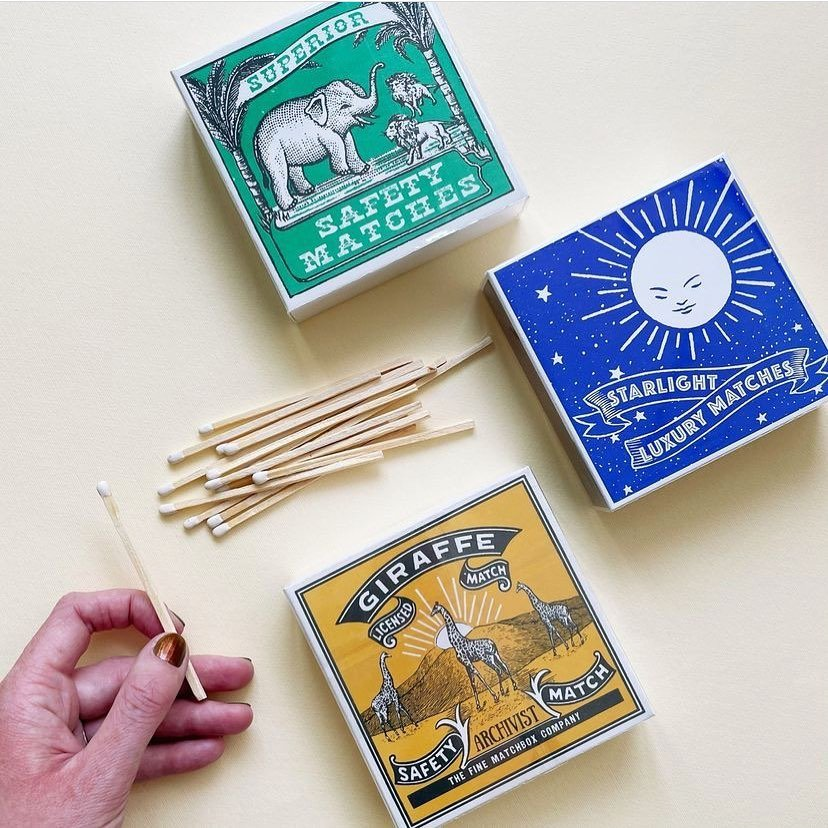 Some of our favourites, inspired by vintage match labels 🔥 thanks @empirehomewares for the photo ...