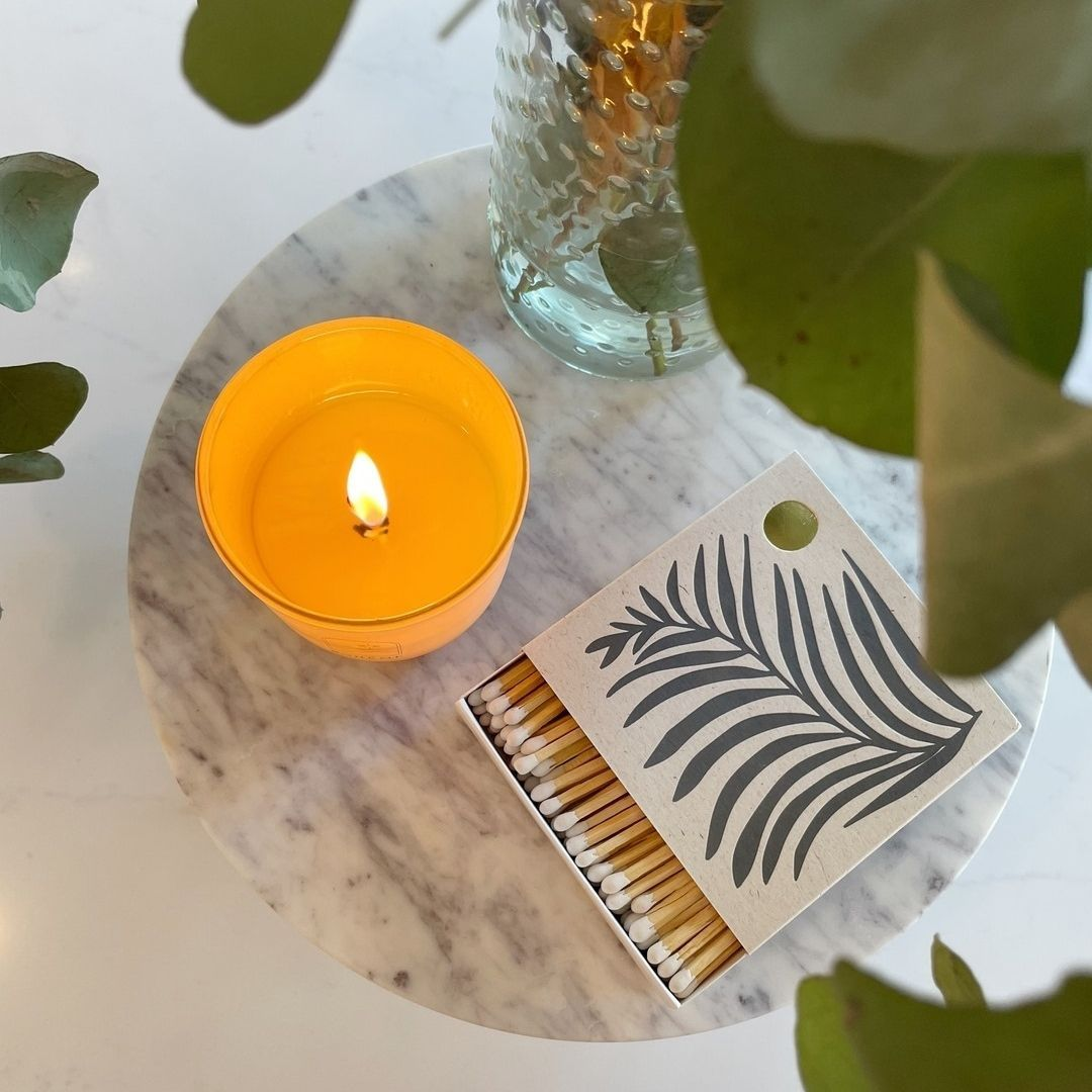 A gorgeous scented candle and a box of @realfunwow matches really does make the perfect gift for ...