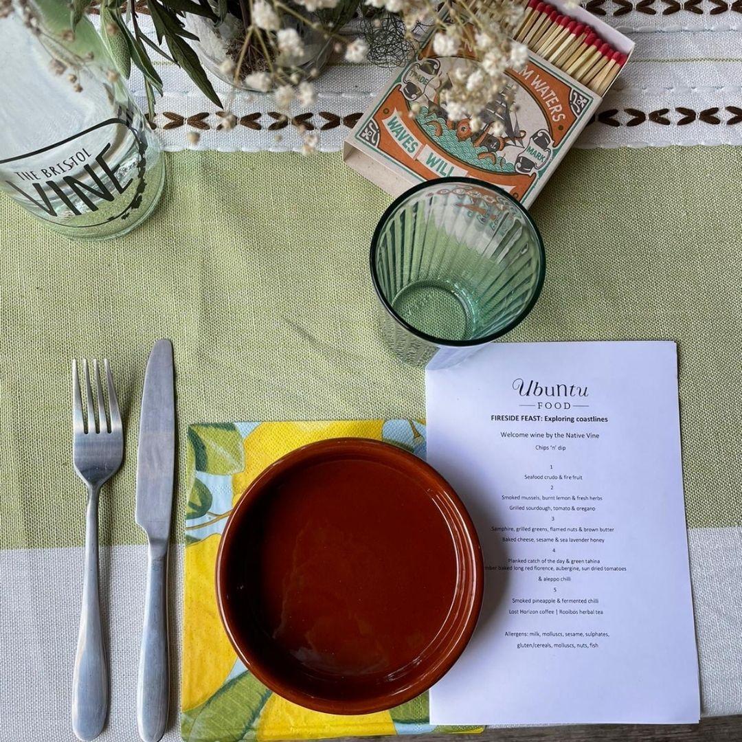 Bristol's Ubuntu Food held a fabulous fireside feast last week with a special menu exploring the ...