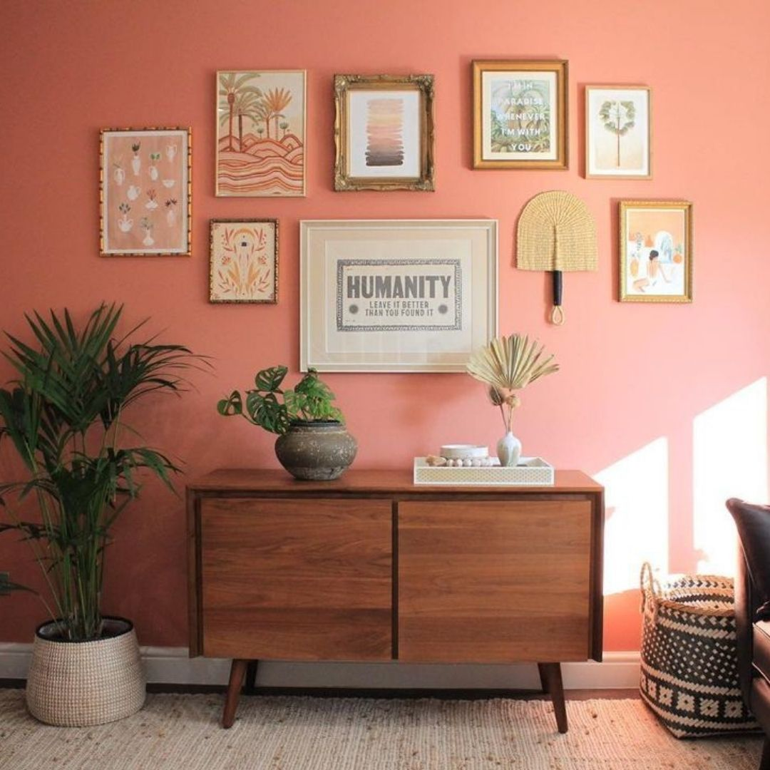 We know, we know - we've posted this one before... But seriously, could this gallery wall ft. @re...