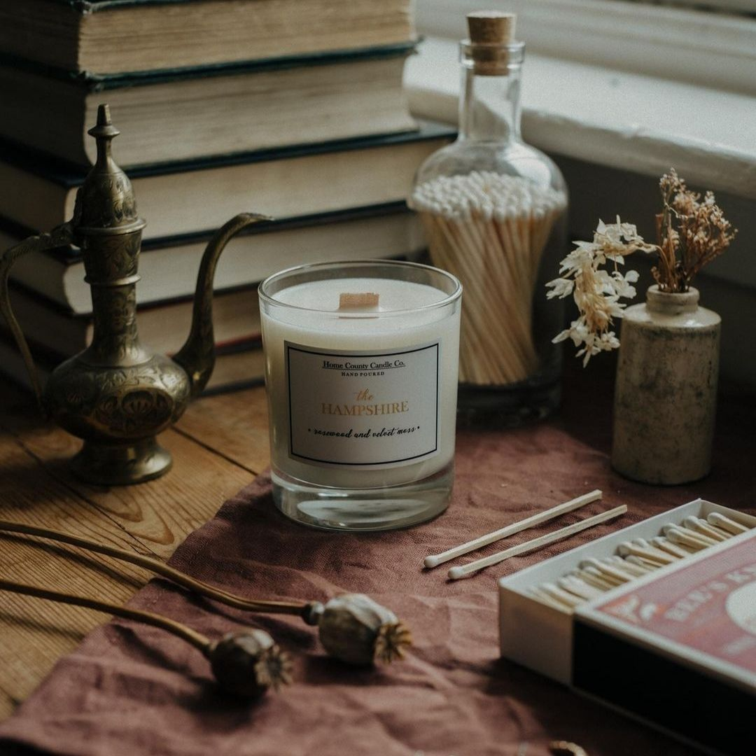 This gorgeous image of our luxury matches and @homecountycandleco's delicious scented candle is m...