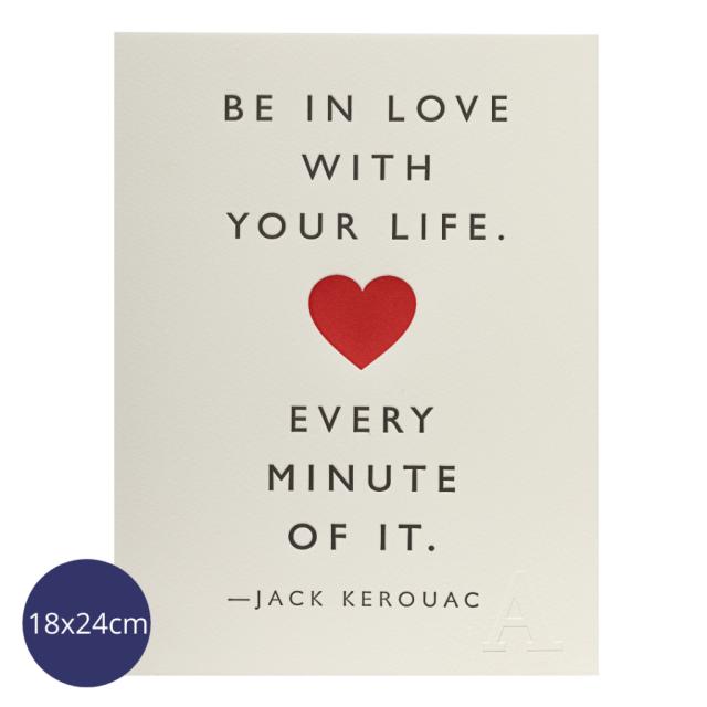 Be In Love - Mini Prints - Jason Falkner - from Archivist Gallery