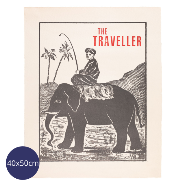 The Traveller - Vellum Prints - from Archivist Gallery