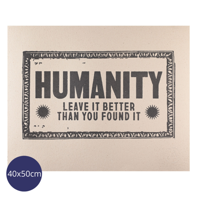 Humanity Print