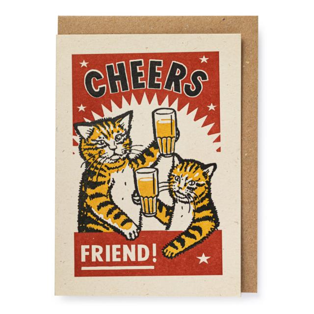 Cheers Friend!