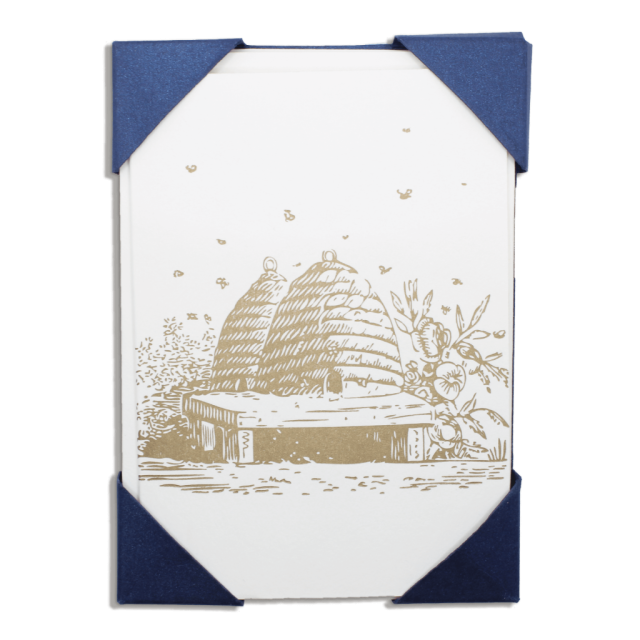 Bees - Notelets Packs - from Archivist Gallery