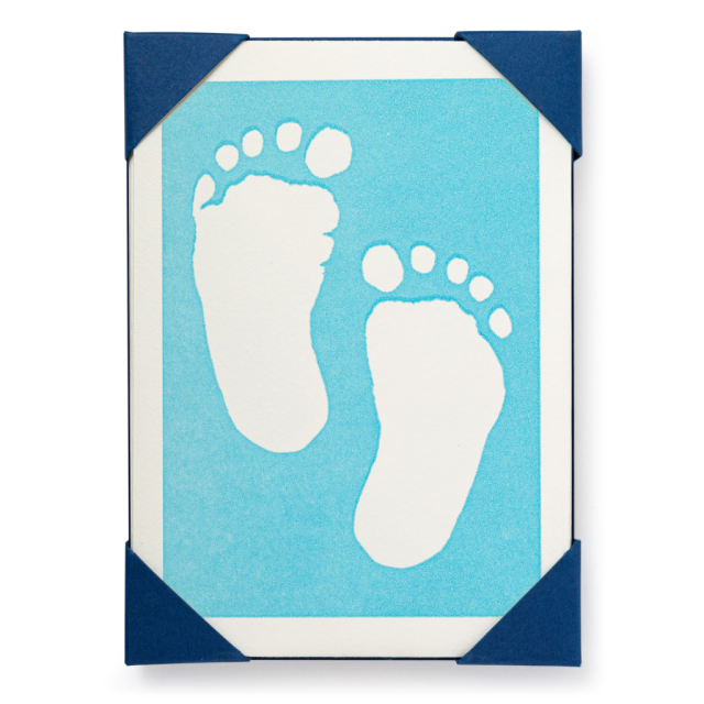 Baby Blue Feet