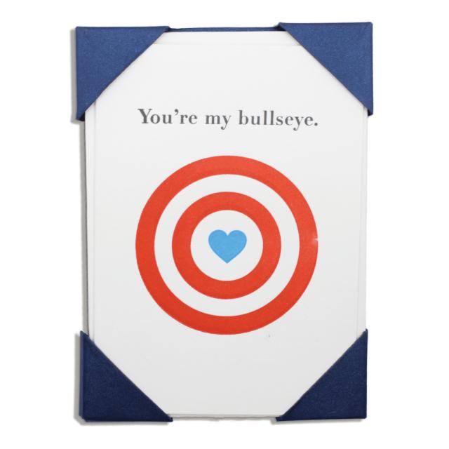 You are my bullseye