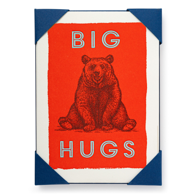 Big Hugs - Notelets Packs - Archivist - from Archivist Gallery