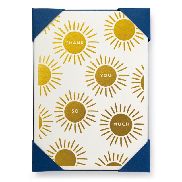 Thank You Sun - Notelets Packs - Jason Falkner - from Archivist Gallery