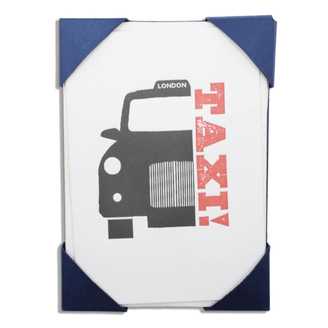 Taxi - Notelets Packs - from Archivist Gallery