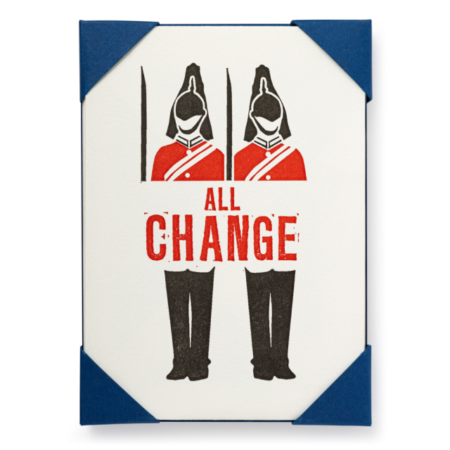 All change - Notelets Packs - from Archivist Gallery