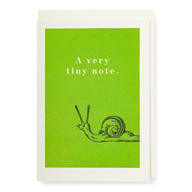 Snail, green