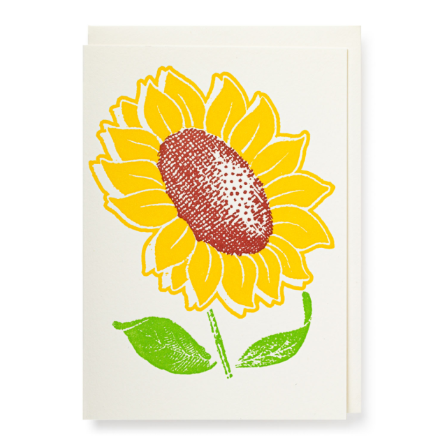 Sunflower - Notelets Singles - from Archivist Gallery