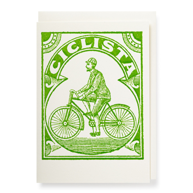 Ciclista - Notelets Singles - from Archivist Gallery
