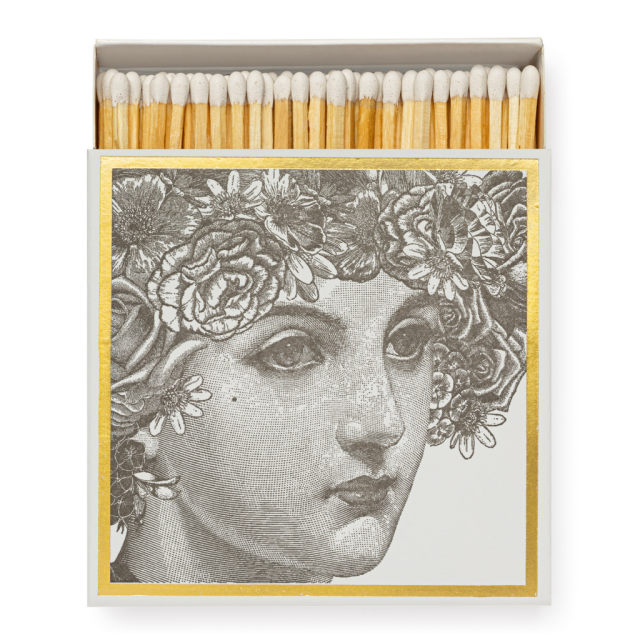 Lady - Square Matchboxes - from Archivist Gallery