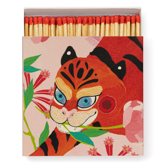 Tiger with Peony