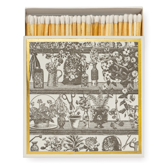 Potting Shed - Square Matchboxes - from Archivist Gallery