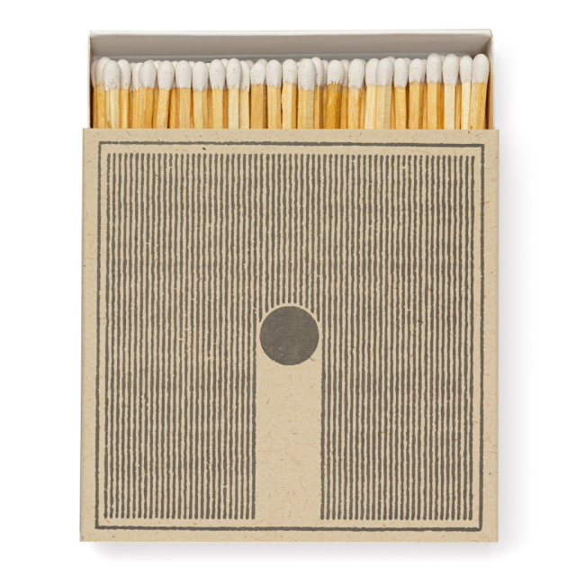 Rain - Square Matchboxes - Real, Fun, Wow! - from Archivist Gallery
