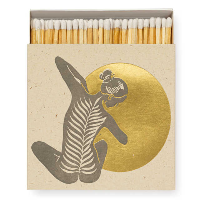 Yoga - Square Matchboxes - Real, Fun, Wow! - from Archivist Gallery