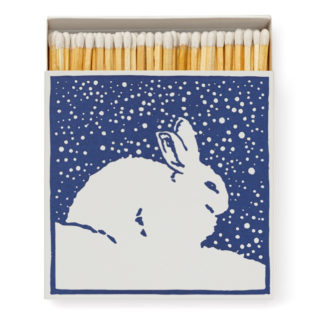 The Rabbit - Square Matchboxes - from Archivist Gallery