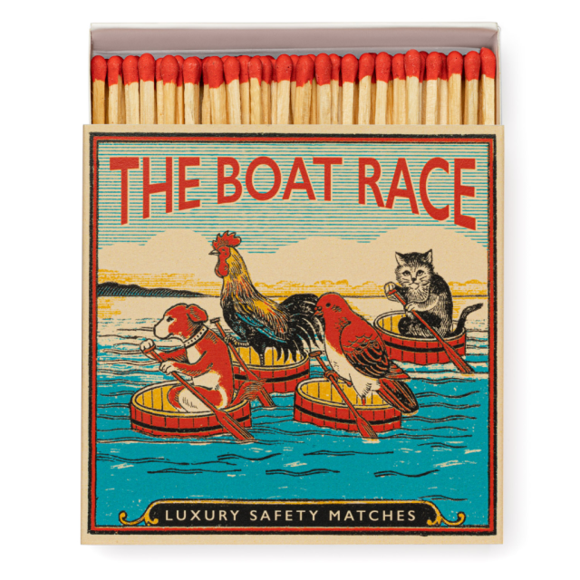 The Boat Race - Square Matchboxes - Archivist - from Archivist Gallery
