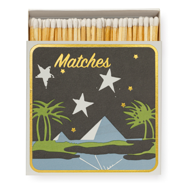 Pyramid - Square Matchboxes - Real, Fun, Wow! - from Archivist Gallery