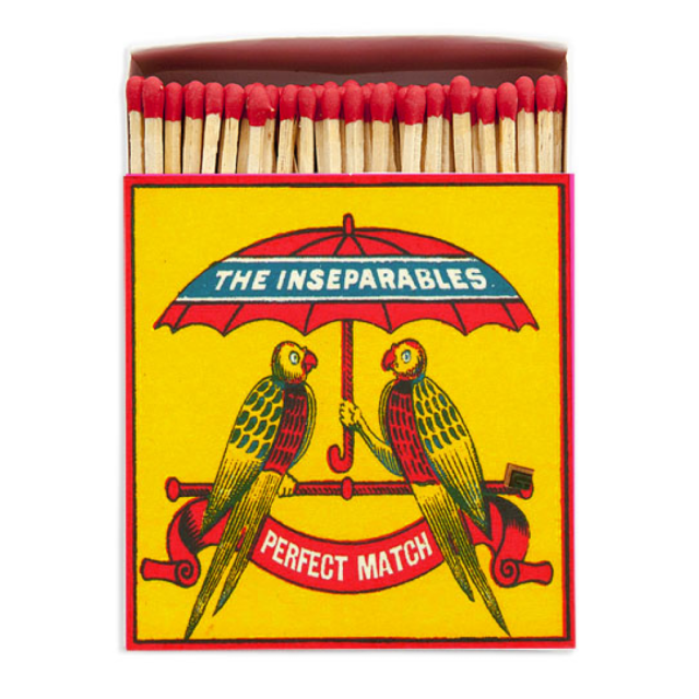 The Inseparables - Square Matchboxes - Archivist - from Archivist Gallery