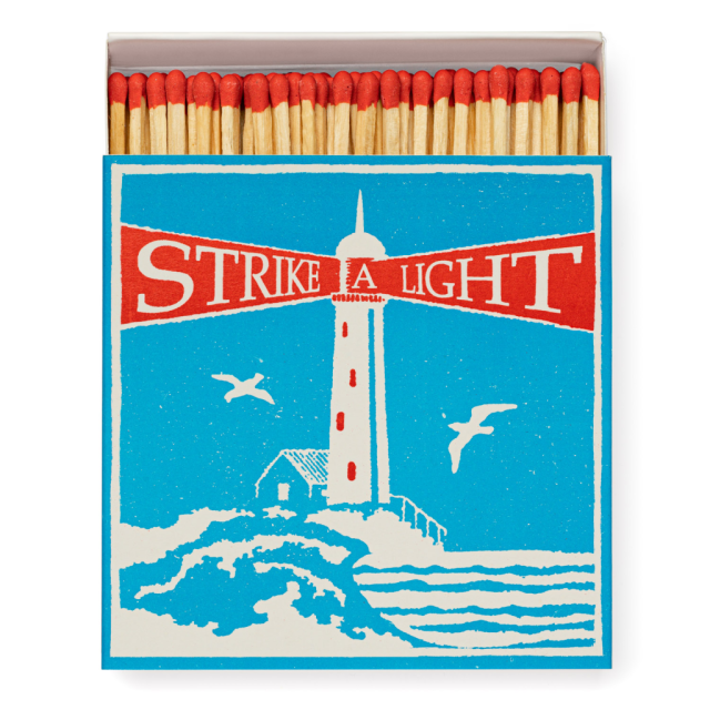 Lighthouse - Square Matchboxes - Archivist - from Archivist Gallery