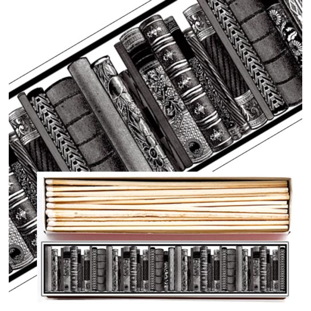 Long Library - Long Matchboxes - from Archivist Gallery