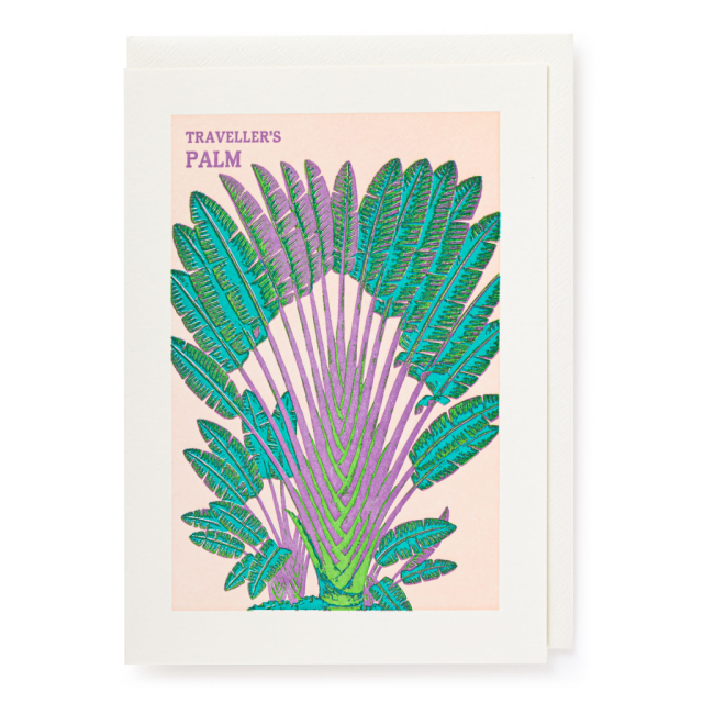 Fan Palm - Letterpress Cards - Natural History Museum - from Archivist Gallery
