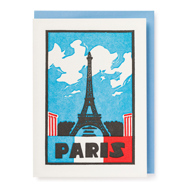 Paris - Letterpress Cards - from Archivist Gallery