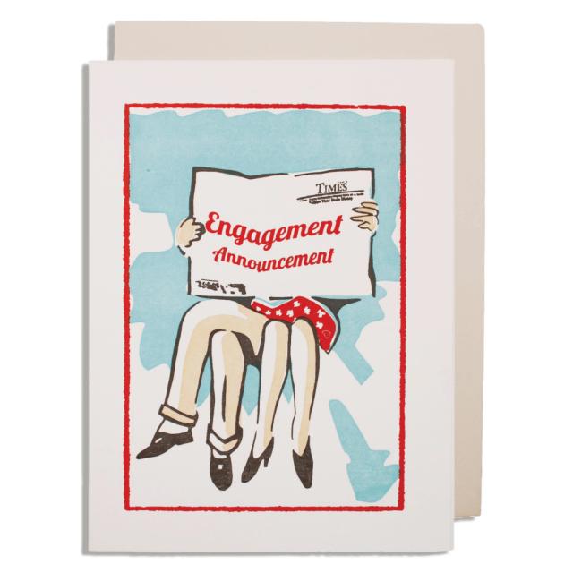 Engagement Annoucenment
