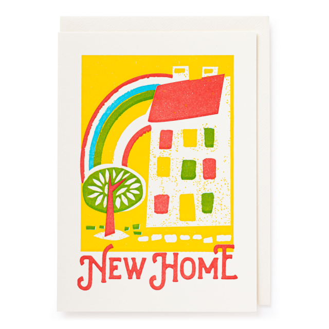New Home - Letterpress Cards - from Archivist Gallery