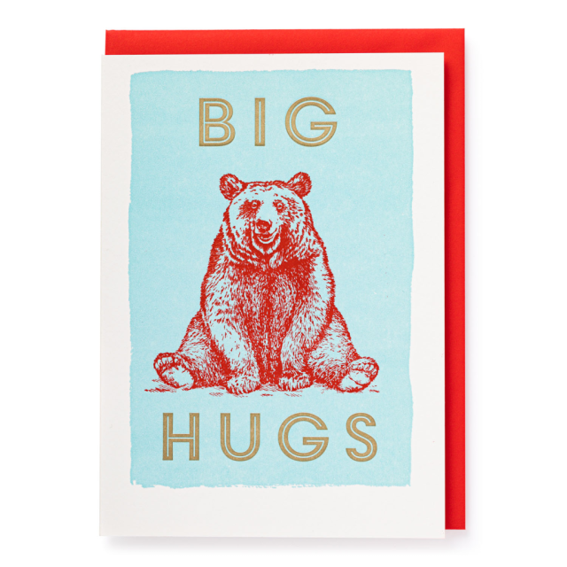 Big Hugs - blank