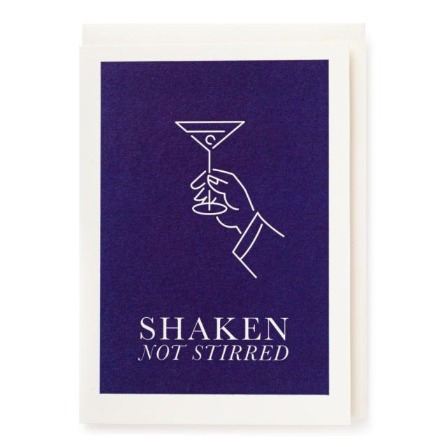 shaken not stired