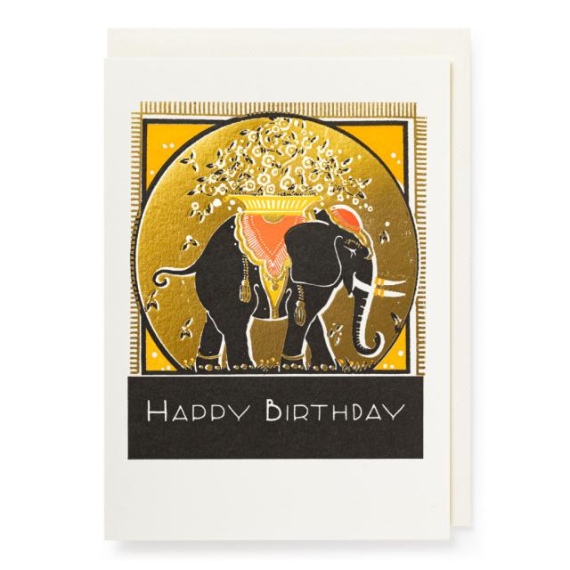 Parisian Elephant - Letterpress Cards - from Archivist Gallery