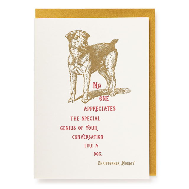 Special Genius - Letterpress Cards - from Archivist Gallery