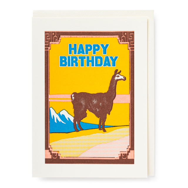 Birthday Lama