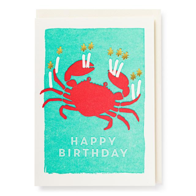 Birthday crab