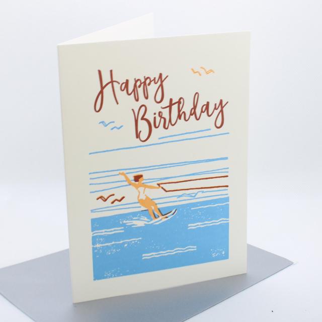 Happy Birthday waterskiier