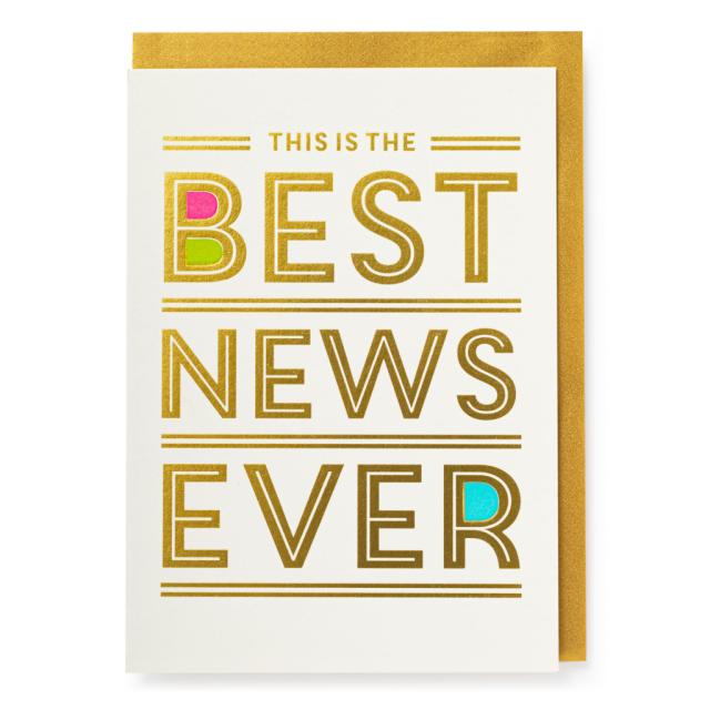 Best Ever News - Letterpress Cards - Jason Falkner - from Archivist Gallery