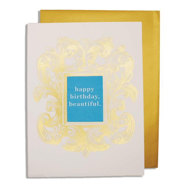 Rococo Birthday - Letterpress Cards - Jason Falkner - from Archivist Gallery