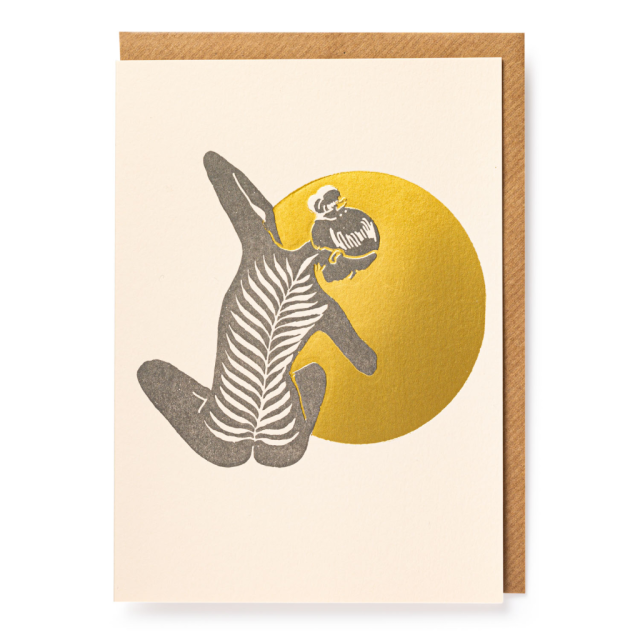 Yoga - Letterpress Cards - Real, Fun, Wow! - from Archivist Gallery