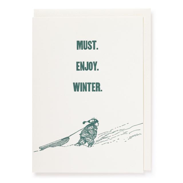 Must Enjoy Winter, Christmas