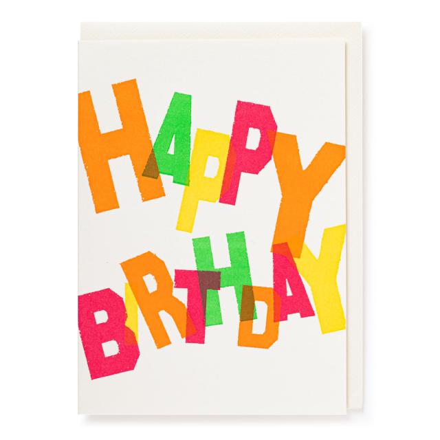 Happy Birthday Colours