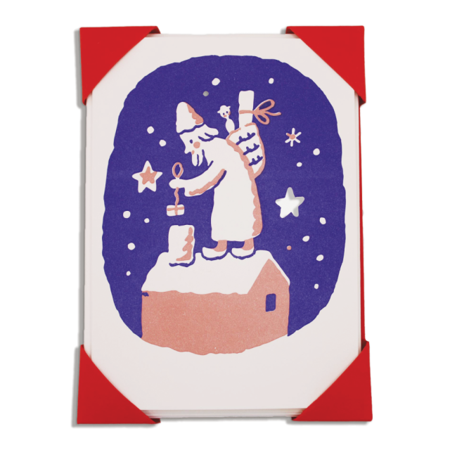 Father Christmas and Chimney