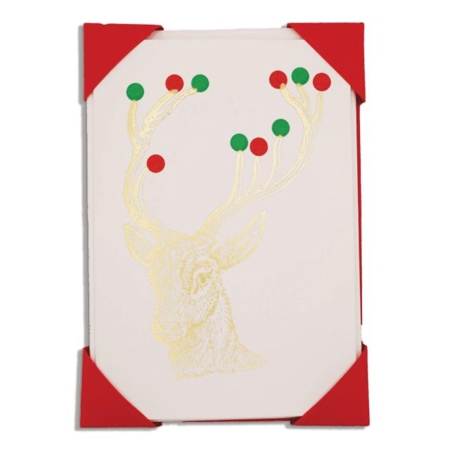 Christmas Rudolph - Notelets Packs - Jason Falkner - from Archivist Gallery