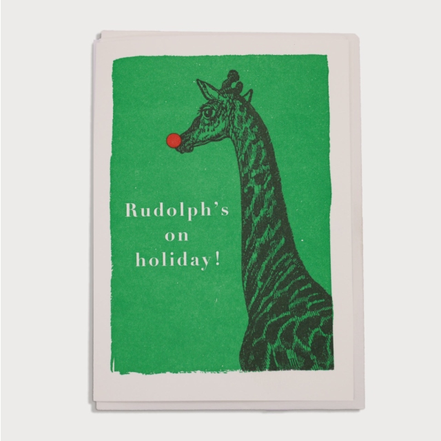 Rudolphs on holiday, Christmas